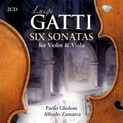 Paolo Ghidoni, Alfredo Zamarra: Gatti: Six Sonatas for Violin & Viola - CD