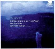 Werner Güra, tenor, Christoph Berner, Fortepiano Rönisch: Schubert: Willkommen und Abschied - CD