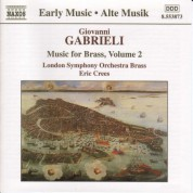 London Symphony Brass: Gabrieli: Music for Brass, Vol.  2 - CD