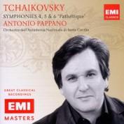 Orchestra dell'Accademia Nazionale di Santa Cecilia, Antonio Pappano: Tchaikovsky: Symphony Nos. 4-6 - CD