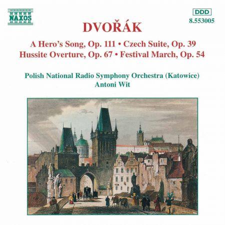 Dvorak: Hero's Song (A) / Czech Suite / Hussite Overture - CD