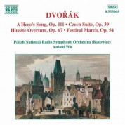 Dvorak: Hero's Song (A) / Czech Suite / Hussite Overture - CD