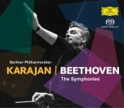 Berliner Philharmoniker, Walter Berry, Herbert von Karajan, Gundula Janowitz, Waldemar Kmentt, Hilde Rössel-Majdan, Wiener Singverein: Beethoven: 9 Symphonies - Karajan (1963 Sacd) - SACD