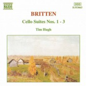 Britten: Cello Suites Nos. 1-3 - CD