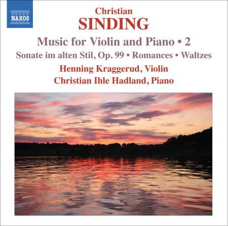 Henning Kraggerud: Sinding, C.: Violin and Piano Music, Vol. 2 - CD