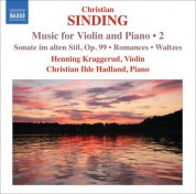 Henning Kraggerud: Sinding, C.: Violin and Piano Music, Vol. 2 - CD