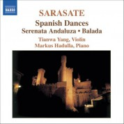 Tianwa Yang: Sarasate: Violin and Piano Music, Vol. 1 - CD