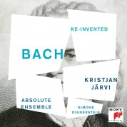 Kristjan Järvi, Simone Dinnerstein, Absolute Ensemble: J.S. Bach: Invented - CD