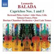 Jose Luis Temes: Balada: Caprichos Nos. 1 & 5 - CD