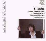 Frank Braley: Richard Strauss: Piano Sonata op.5 - CD