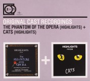 Çeşitli Sanatçılar: Original Cast Recording - Phantom of the Opera, Cats - CD