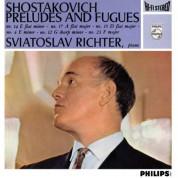 Sviatoslav Richter: Shostakovich: 6 Preludes & Fugues from Op.87 - Plak