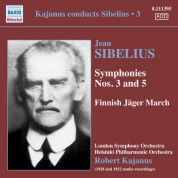 Robert Kajanus: Kajanus Conducts Sibelius, Vol. 3 - CD