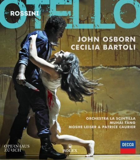 Cecilia Bartoli, John Osborn, Moshe Leiser, Muhai Tang, Orchestra La Scintilla, Patrice Caurier: Rossini: Otello - BluRay