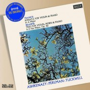 Barry Tuckwell, Itzhak Perlman, Vladimir Ashkenazy: Brahms/ Franck: Chamber Music for Violin French Horn and Piano - CD