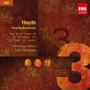 Philharmonia Orchestra, Otto Klemperer: Haydn: Favourite Symphonies - CD