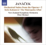 Peter Breiner: Janacek, L.: Operatic Orchestral Suites, Vol. 2  - Kat'A Kabanova / The Makropulos Affair - CD