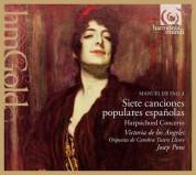 Victoria de Los Angeles, Josep Pons: De Falla: Siete canciones populares españolas - CD
