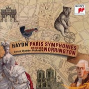Sir Roger Norrington, Zurich Chamber Orchestra: Haydn: The Paris Symphonies - CD