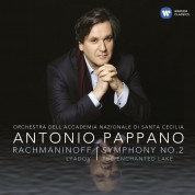 Antonio Pappano, Orchestra dell'Accademia Nazionale di Santa Cecilia: Rachmaninov: Symphony No. 1/ Lyadov: The Enchanted Lake - CD