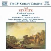 Kalman Berkes: Stamitz, C.: Clarinet Concertos, Vol.  1 - CD