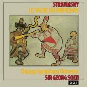 Chicago Symphony Orchestra, Sir Georg Solti: Stravinsky: Le Sacre Du Printemps - Plak