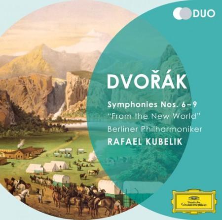 Berliner Philharmoniker, Rafael Kubelik: Dvořák: Symphonien 6 - 9 - CD