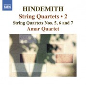 Amar Quartet: Hindemith: String Quartets, Vol. 2 - CD