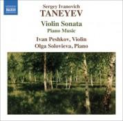 Olga Solovieva: Taneyev, S.I.: Violin Sonata / Piano Music - CD