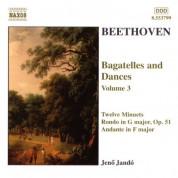 Beethoven: Bagatelles and Dances, Vol.  3 - CD
