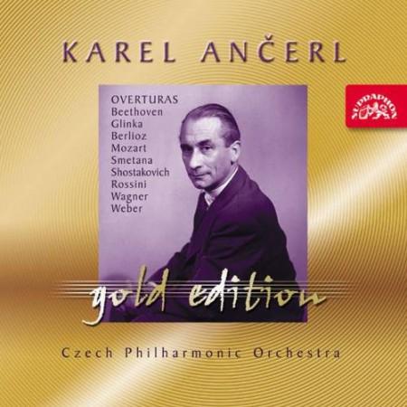 Czech Philharmonic Orchestra, Karel Ancerl: Famous Overtures - CD