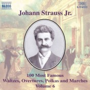 Strauss II: 100 Most Famous Works, Vol.  6 - CD