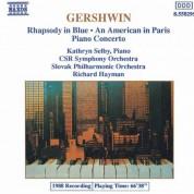 Kathryn Selby: Gershwin: Rhapsody in Blue / Piano Concerto - CD