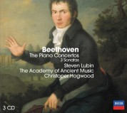 Christopher Hogwood, Steven Lubin, The Academy of Ancient Music: Beethoven: Piano Concertos 1-5 - CD