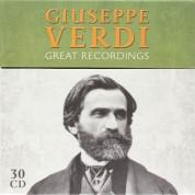 Çeşitli Sanatçılar: Giuseppe Verdi – Great Recordings - CD