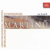 Jiří Bĕlohlávek, Czech Philharmonic Orchestra: Martinu: Symphonies 3 & 4 - CD