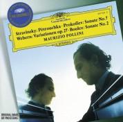 Maurizio Pollini: Stravinsky/ Prokofiev/ Boulez/ Webern: Petruschka/Variationen/+ - CD
