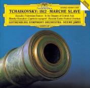 Gothenburg Symphony Orchestra, Neeme Järvi: Tchaikovsky: »1812«, Marche Slave - CD