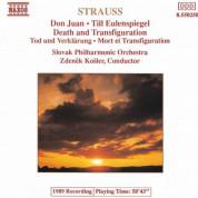 Strauss, R.: Don Juan / Till Eulenspiegel / Death and Transfiguration - CD