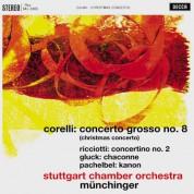 Stuttgarter Kammerorchester, Karl Münchinger: Corelli: Concerto grosso No. 8 - Plak