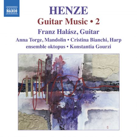 Franz Halasz: Henze: Guitar Music, Vol. 2 - CD