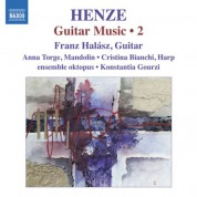 Franz Halasz: Henze: Guitar Music, Vol. 2 - CD