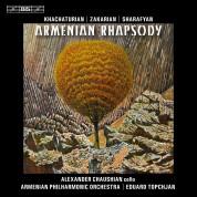 Alexander Chaushian, Armenian Philharmonic Orchestra, Eduard Topchjan, Emmanuel Hovhannisyan, Vache Sharafyan: Armenian Rhapsody (Khachaturian, Zakarian, Sharafyan, Komitas) - CD