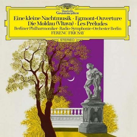 Ferenc Fricsay, Radio Symphonie Orchester Berlin, Berlin Philharmonic Orchestra: Eine Kleine Nachtmusik/Die Moldau - Plak