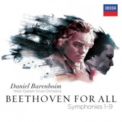 Daniel Barenboim, West-Eastern Divan Orchestra: Beethoven: For All - Symphonies 1- 9 - CD