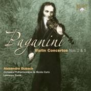 Alexandre Dubach, Orchestre Philharmonique de Monte-Carlo, Lawrence Foster: Paganini: Violin Concertos Nos. 2 & 5 - CD