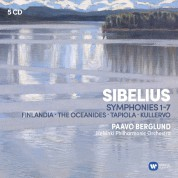 Paavo Berglund, Helsinki Philharmonic Orchestra: Sibelius: Symphony No. 1-7 - CD