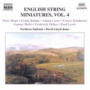 David Lloyd-Jones, Northern Sinfonia: ENGLISH STRING MINIATURES, Vol. 4 - CD