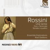 Ensemble Explorations, Roel Dieltiens: Rossini: Una Lagrima - CD
