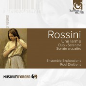 Ensemble Explorations, Roel Dieltiens: Rossini: Una Lagrima - CD